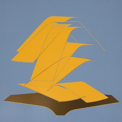 [A0450-0022] yellow  terrarium (ㅣ)