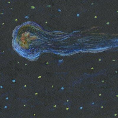 [A0451-0068] 지는 별