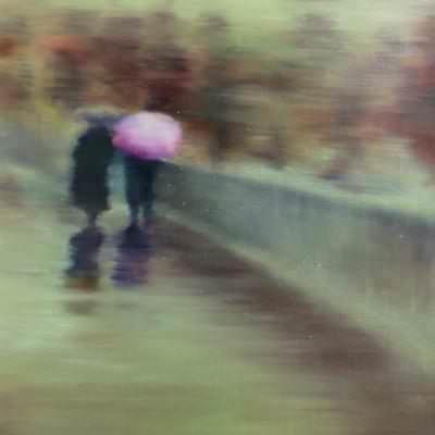 [A0452-0060] 물이 되는 꿈... 봄 눈