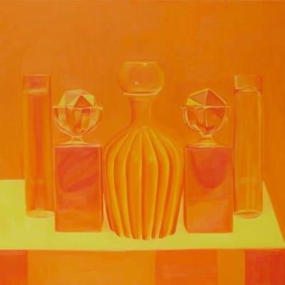 [A0464-0016] Still life in Yellow Orange