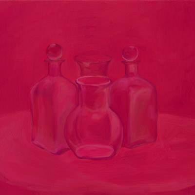 [A0464-0021] Still life in Pink