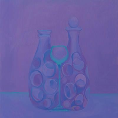[A0464-0024] Still life in Violet