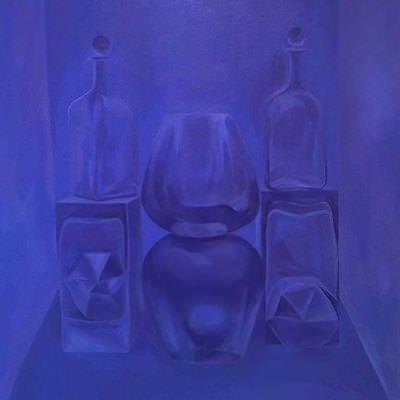 [A0464-0037] Still life in Purple