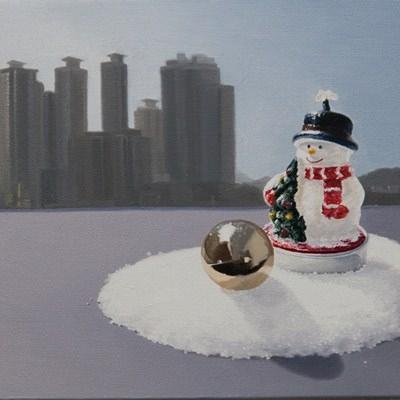 [A0469-0004] 또 다른 풍경-Snowman