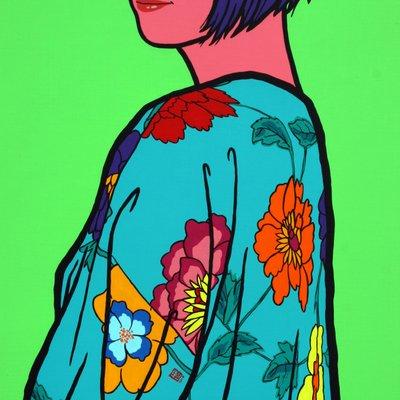 [A0471-0033] flower girl