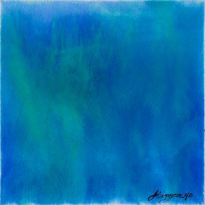 [A0487-0016] A series of moments - Aurora Blue