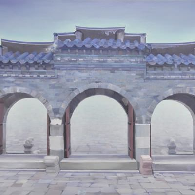 [A0489-0010] 환구단 석조삼문