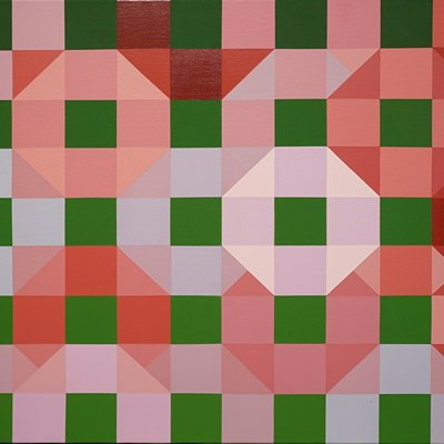 [A0498-0045] Green Squares