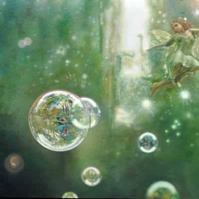 [A0509-0013] bubbles(fairy tale)-Tinker Bell stor