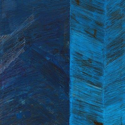 [A0513-0006] Palimpsest(Blue II)