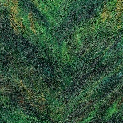 [A0513-0019] 안료와 빛의 흔적에 의한 기억실험 (Green VI)