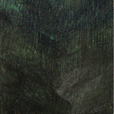 [A0513-0021] 안료와 빛의 흔적에 의한 기억실험 (Green II)
