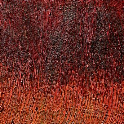 [A0513-0028] 안료와 빛의 흔적에 의한 기억실험(Red VI)