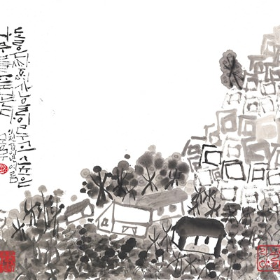 [A0515-0004] 석목산(石木山) no.5