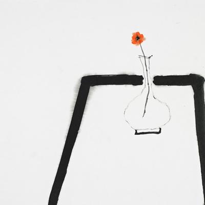 [A0515-0010] 사라지지 않는 꽃 한 송이