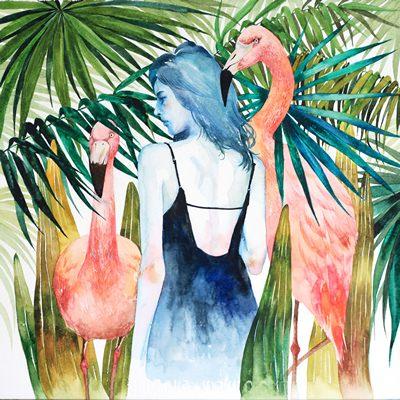[A0527-0002] Tropical garden