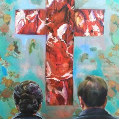 [A0535-0003] 붉은 십자가