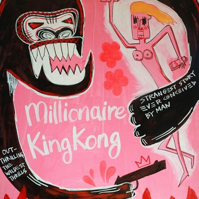 [A0540-0004] 밀리네어 킹콩 (Millionaire KING KONG)