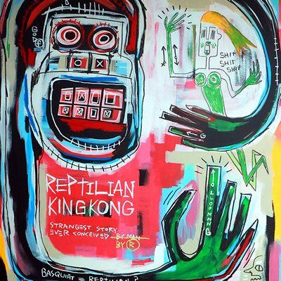 [A0540-0026] 렙틸리안 킹콩 (Reptilian Kingkong)