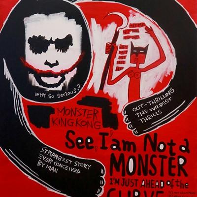 [A0540-0027] 몬스터 킹콩 (Monster Kingkong)