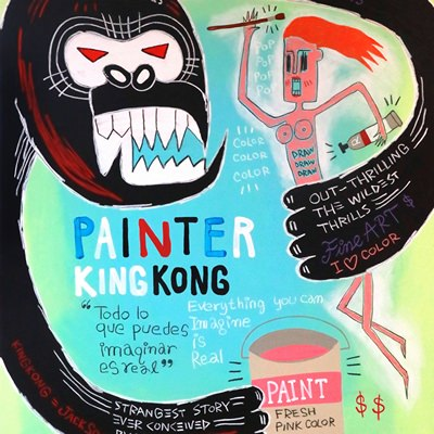 [A0540-0031] 페인터 킹콩 (Painter Kingkong)
