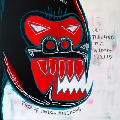 [A0540-0035] 페이스 오브 잭슨 킹콩 (Face Of Jackson Kingkong)