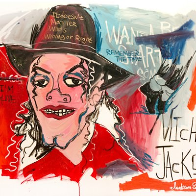 [A0540-0054] 마이클 잭슨 (Michael Jackson)