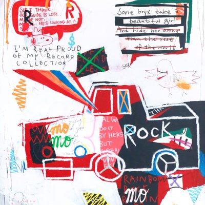 [A0540-0205] Rainbow Rock Rollin 5