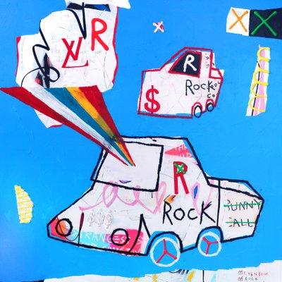 [A0540-0212] Rainbow Rock Rollin 12