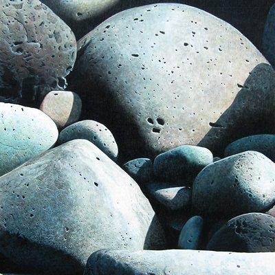 [A0547-0002] jeju stone huddling_No6