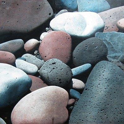 [A0547-0007] jeju stone huddling_No13