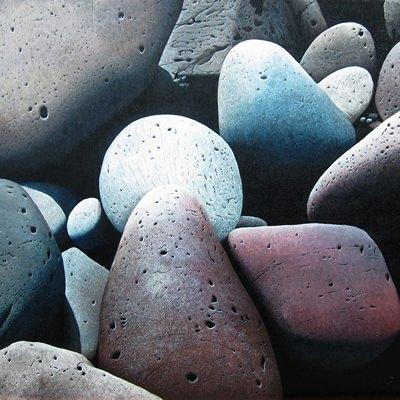 [A0547-0008] jeju stone huddling_No14