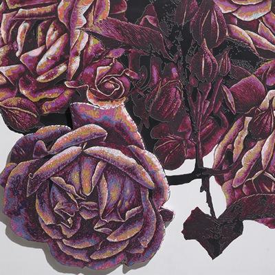 [A0549-0017] Color flows-Flower