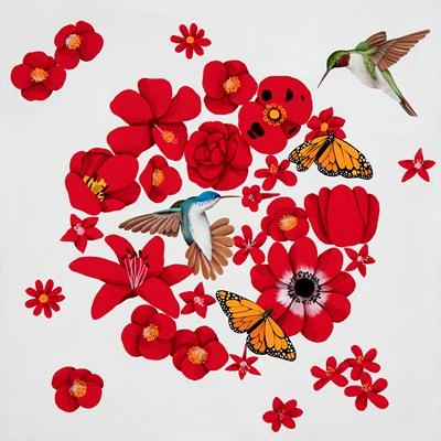 [A0551-0003] A thousand flowers