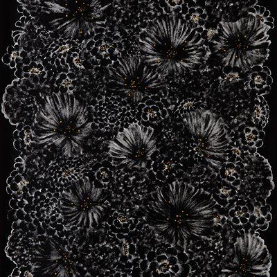 [A0551-0006] Black flowers