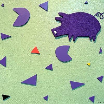 [A0552-0036] 새콤한 돼지