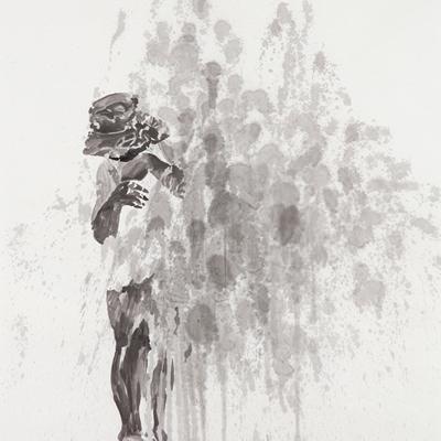 [A0556-0007] 검은 얼굴의 아이