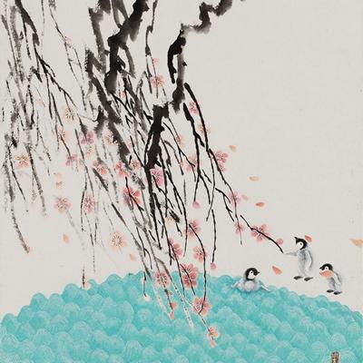 [A0558-0019] 벚꽃유희