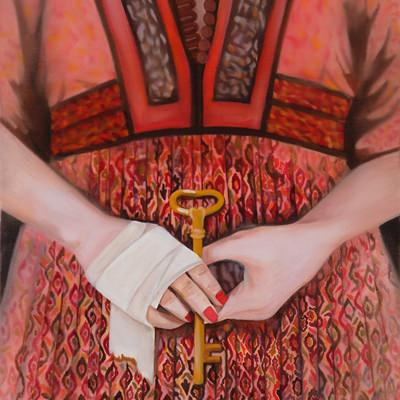 [A0559-0023] 붉은소녀의 열쇠