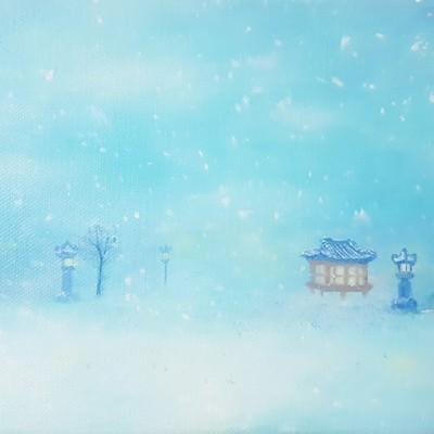 [A0565-0018] 한옥마을의 겨울