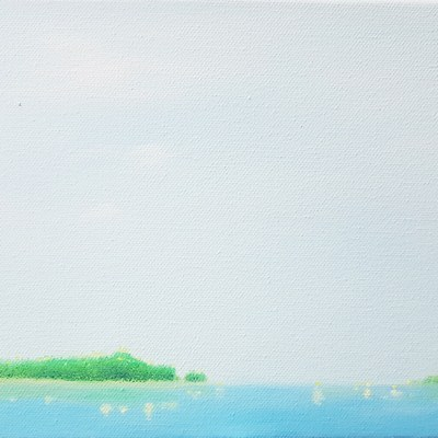 [A0565-0026] 잔잔한 바다