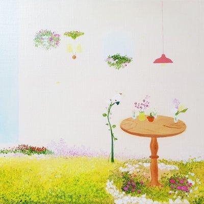 [A0565-0033] pink garden