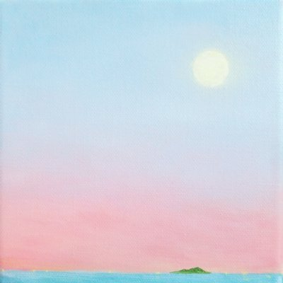 [A0565-0039] 새벽달