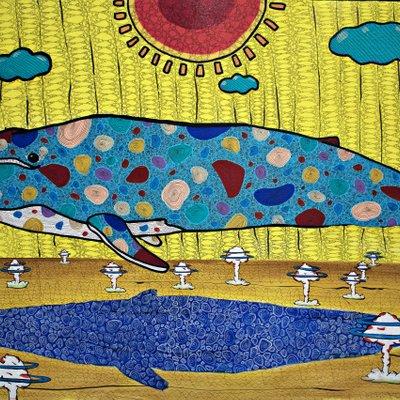 [A0574-0001] 수중 핵실험으로 고통받는 흰수염고래