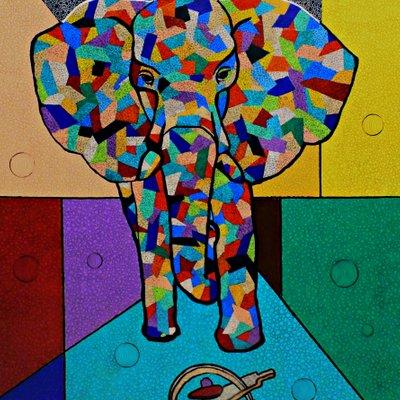 [A0574-0003] 위험한 코끼리
