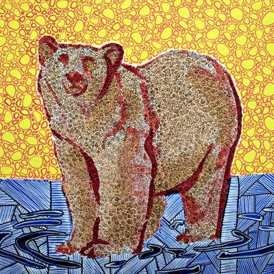 [A0574-0009] 설 곳을 잃은 북극곰