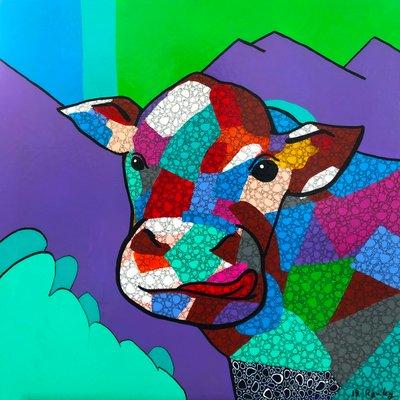 [A0574-0050] 푸른  들판의 소