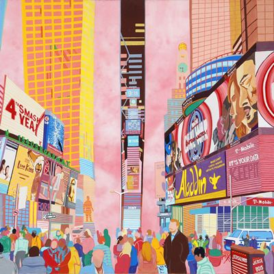 [A0581-0001] NY-Times Square
