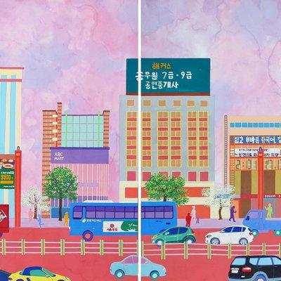 [A0581-0012] KR-Gangnam Street