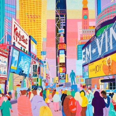[A0581-0015] NY-Times Square